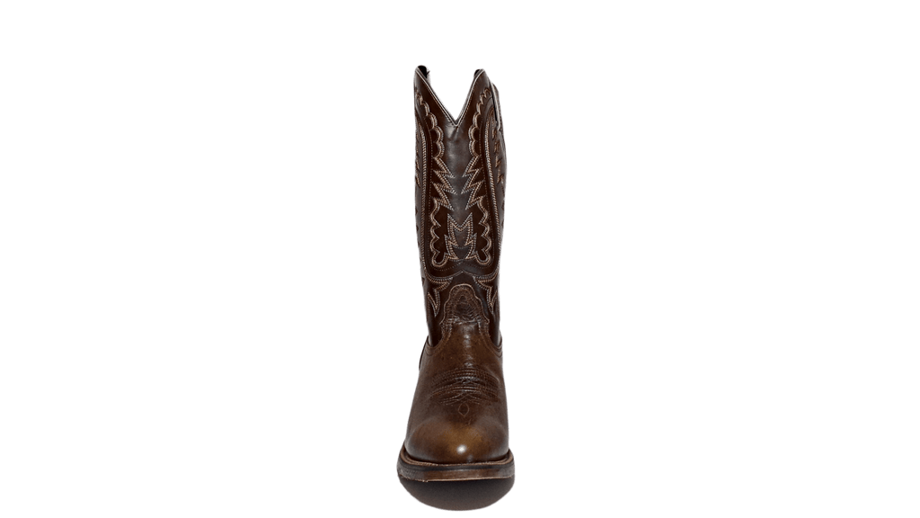 "Men's Leather Cowboy Boots, the ""Jackpot"" by Nocona NB5551 Front View"