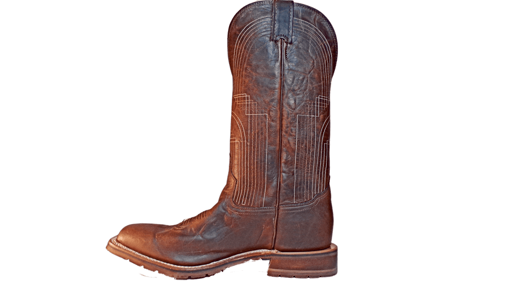 "Men's Leather Cowboy Boots the ""Paseo"" by Tony Lama XT5101 Side View"