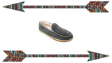 "Men's Moccasin Slippers ""Tilden"" by Minnetonka 41001 Bg"