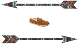 "Men's Moccasins Slippers the ""Taft"" Hardsole Moccasin by Minnetonka 41032 Bg"