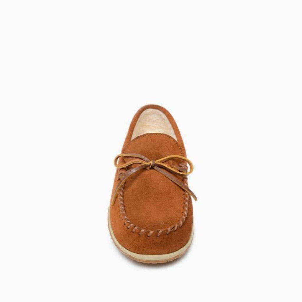 Men's Moccasins the Taft Hardsole Moccasin by Minnetonka 41032 Toe