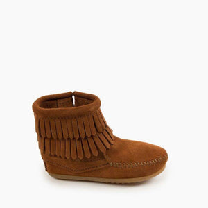 Minnetonka Infant Moccasins Booties Side View