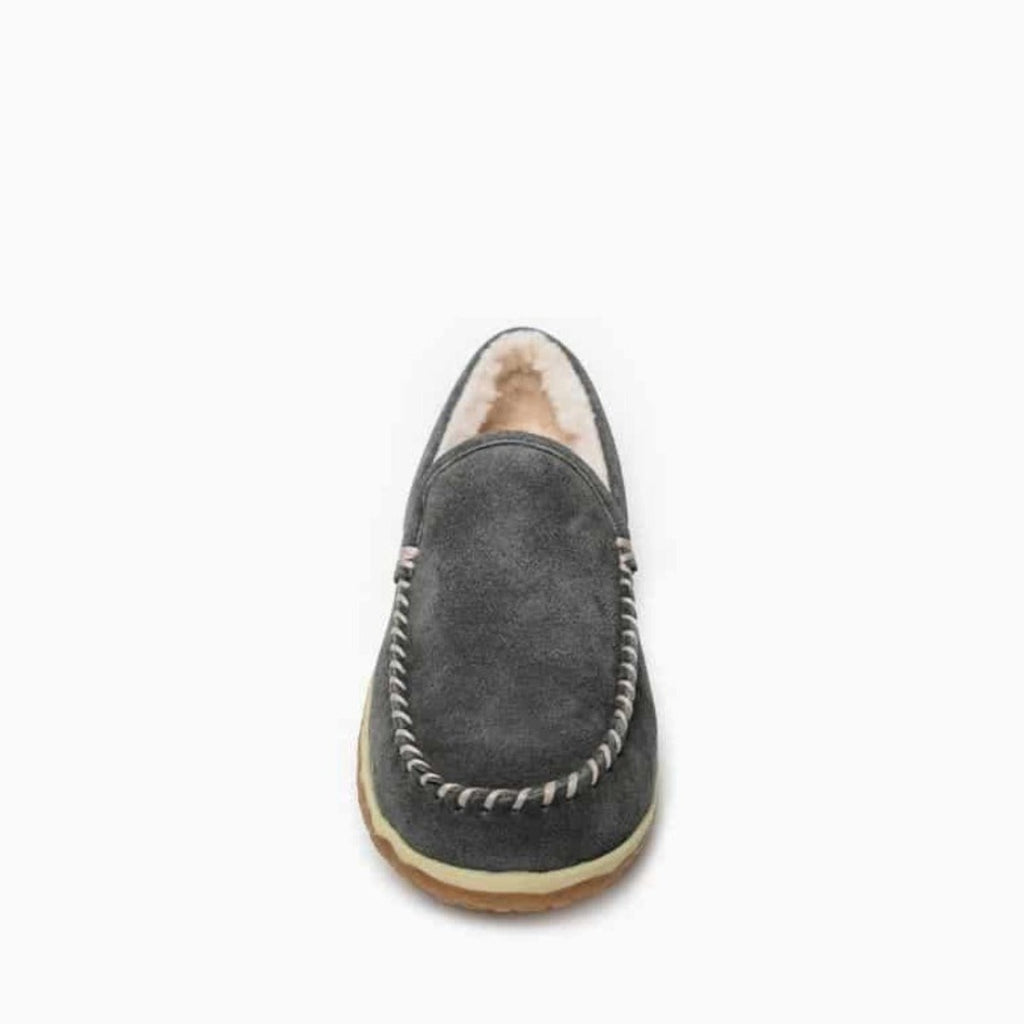 "Men's Moccasin Slippers ""Tilden"" by Minnetonka Toe"