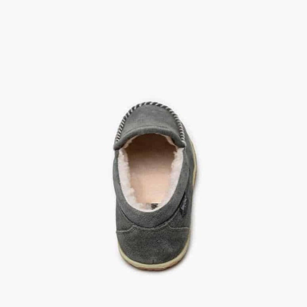 "Men's Moccasin Slippers ""Tilden"" by Minnetonka Back View"