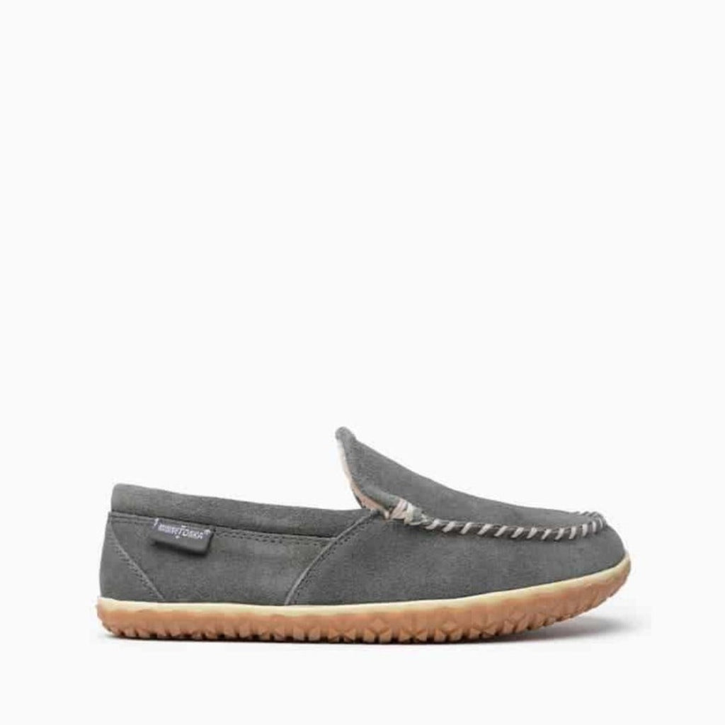 "Men's Moccasin Slippers ""Tilden"" by Minnetonka Side View"