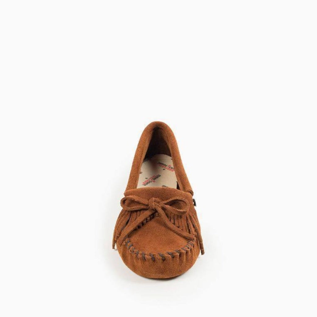 "Women's Moccasins ""Kilty"" Softsole by Minnetonka 102 Toe"