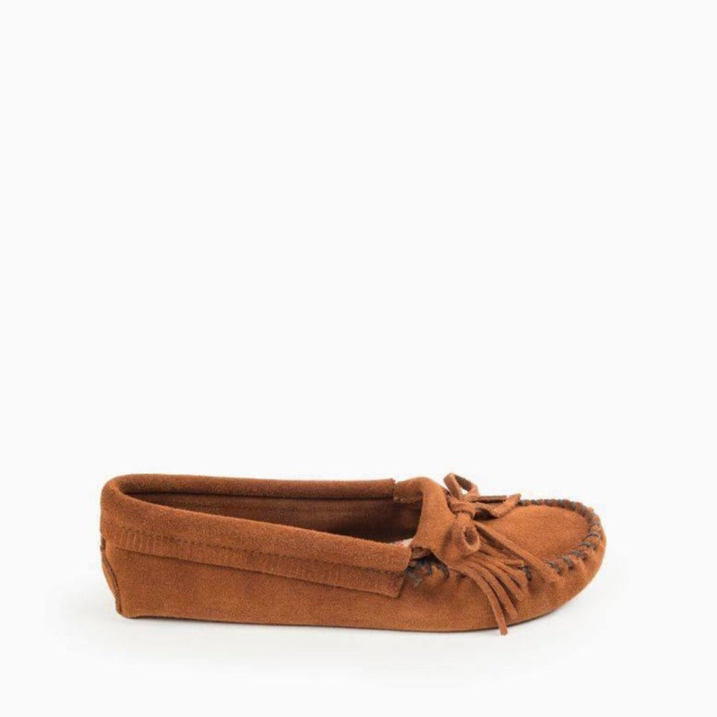"Women's Moccasins ""Kilty"" Softsole by Minnetonka 102 Side View"