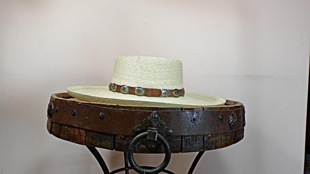 "Palm Leaf Hat, the ""High Desert"" by Charlie 1 Horse CSHIDS-2550 Side View"