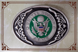 US Army Color Buckle by Colorado Silver Star