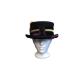 "Steampunk Hat or Victorian Hat the ""Velvet Love"" by Conner C1063"