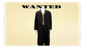 "Western Duster the ""Jesse James"" Duster by Frontier Classics CM90 Black"