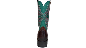 "Women's Leather Boots the ""West Bound"" by Ariat 10033978 Back View"