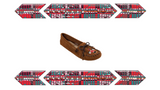 "Women's Softsole Moccasins the ""Thunderbird"" in Tan by Minnetonka 151 Bg"
