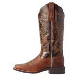 "Women's Leather Cowgirl Boots the ""Jackpot"" by Ariat 10031430 Side View"