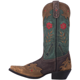 "Women's Leather Cowgirl Boots the ""Miss Kate"" by Laredo 52138 Side View"