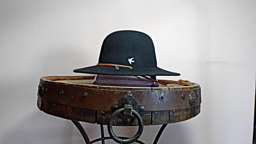 "Wool Hat, the ""Birds of a Feather"" by Conner Hats"
