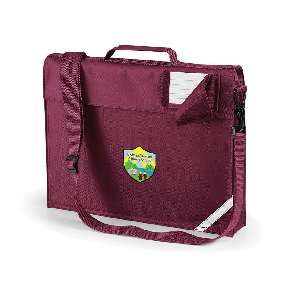 Bishops Tawton Primary Bookbag with strap