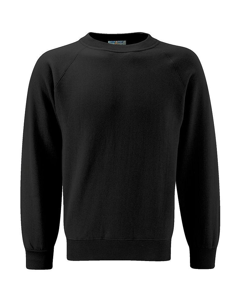 Plain Black Sweatshirt