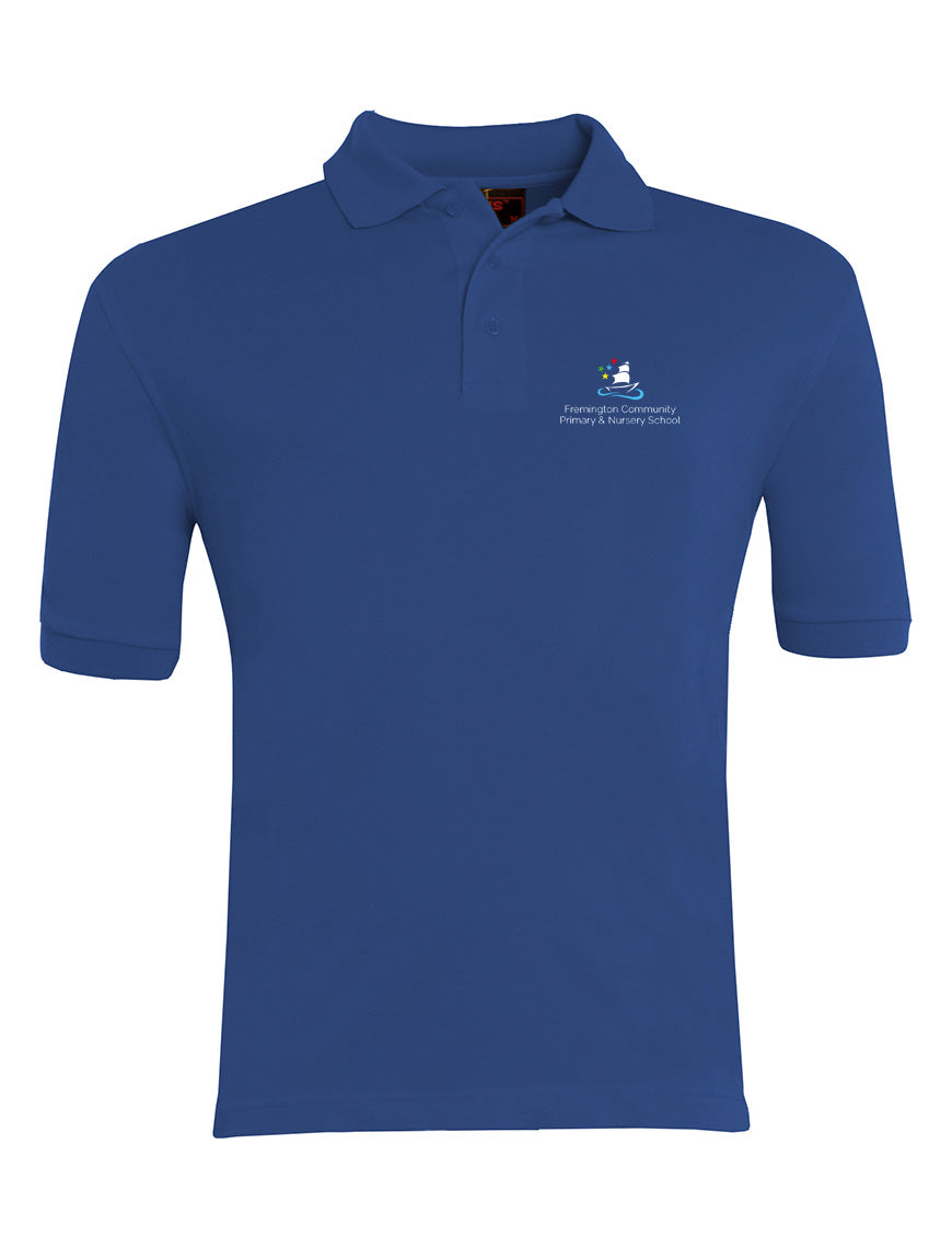 Fremington Primary Polo-shirt ROYAL