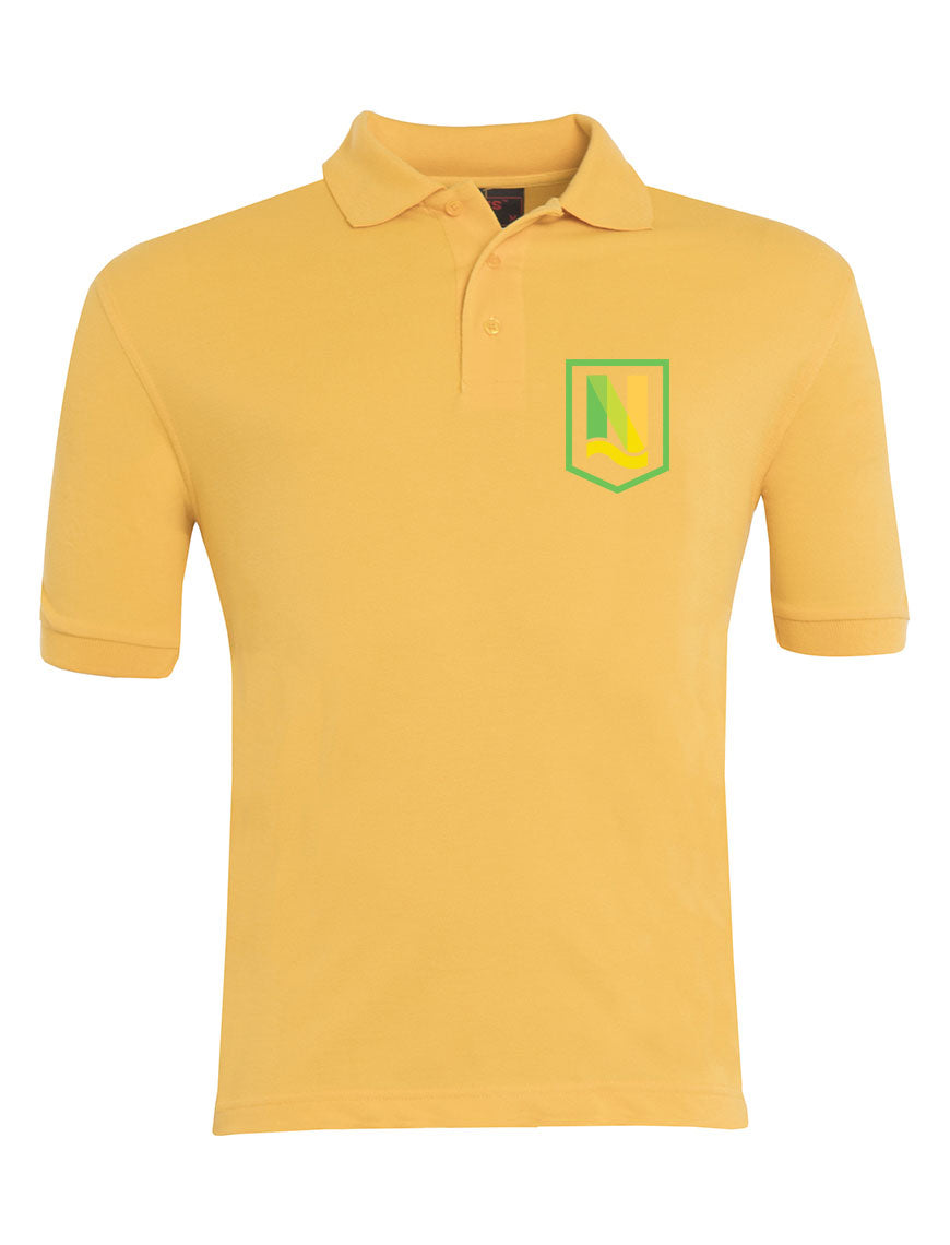 Newport Community School Primary Academy Polo-shirt GOLD