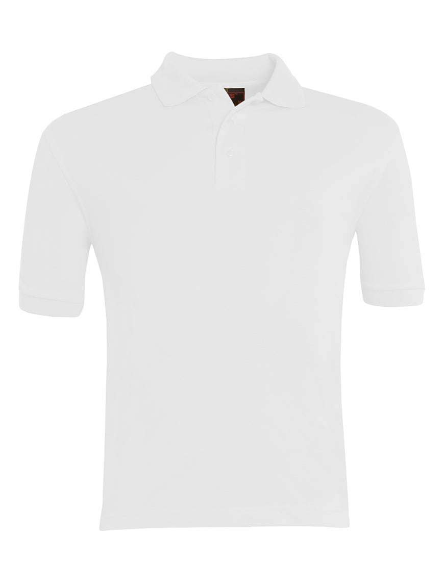 Plain White Polo-shirt