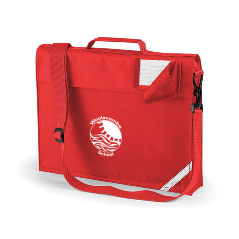 Woolacombe School Bookbag with strap