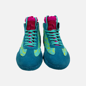 "FFB Prelude ""Teals"" Wrestling Shoes - Funky Flickr Boyz Gear"