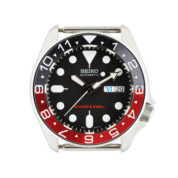 SKX Steel Bezel Insert: Dual Time Black Triangle for SKX007 SKX009