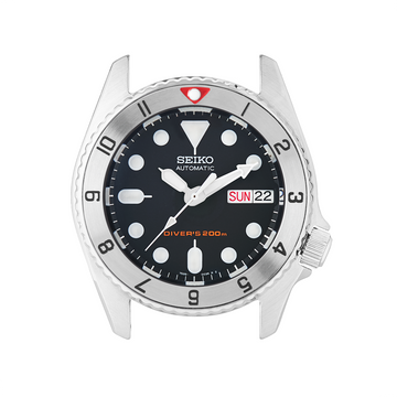 SKX013 Steel Bezel Insert: Dual Time Mk2 Red Triangle