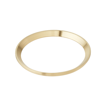 SRP Turtle Chapter Ring: Brushed Gold Finish