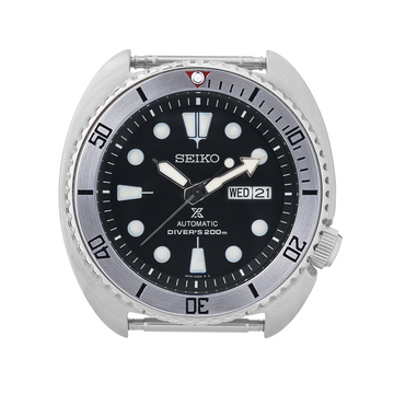 SRP Turtle Steel Bezel Insert: BB Style Red for Seiko Turtle Reissue