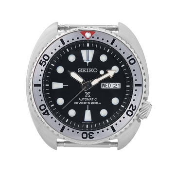 SRP Turtle Steel Bezel Insert: Seiko Style Red for Seiko Turtle Reissue