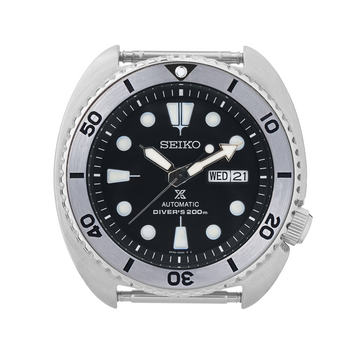 SRP Turtle Steel Bezel Insert: Vintage Seiko Style Black for Seiko Turtle Reissue