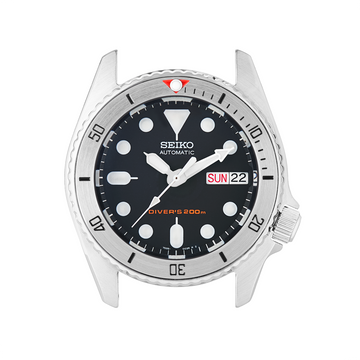 SKX013 Steel Bezel Insert: BB Style Red