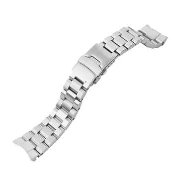 Samurai Watch Bracelet: Hexad Brushed Finish