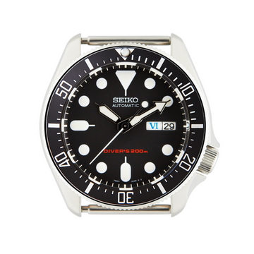 SKX Ceramic Bezel Insert: DSSD style Black/White for SKX007/SKX009
