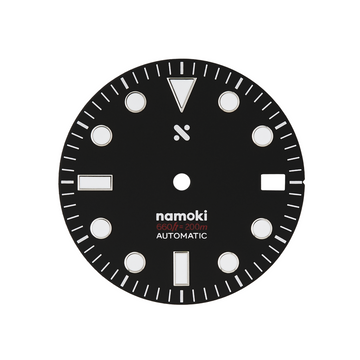 Watch Dial: Divemaster Black (Date Only)