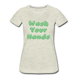 Wash Your Hands - heather oatmeal