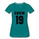 Covid 19 - teal