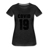 Covid 19 - charcoal gray