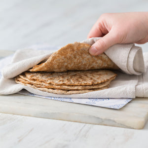 Dairy and grain free wraps