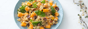 Pumpkin and Antipasto Risoni salad