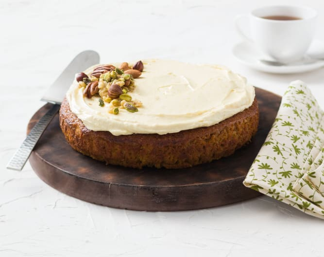 Gluten Free Carrot and Almond Cake