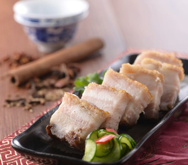 Hong Kong-style roast pork belly