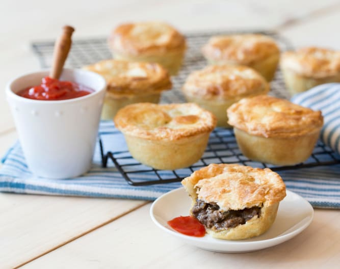 Rosemary meat pies