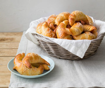 Rogale (Polish brioche crescents) (Grace Mazur)