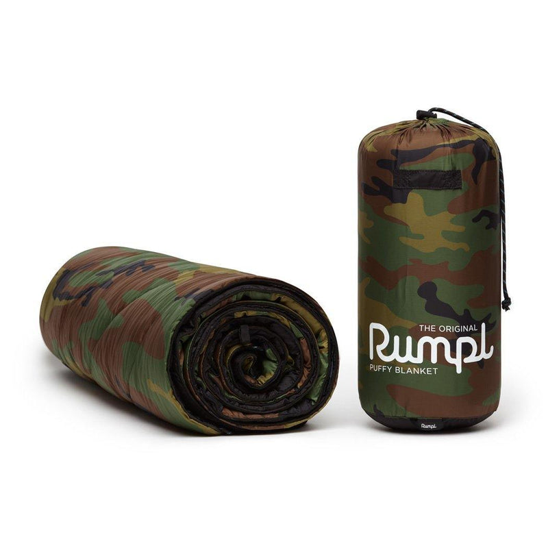 Original Puffy Blanket - Woodland Camo