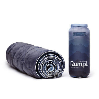 Rumpl | Down Puffy Blanket - Cascade Fade |  |  | Printed Down