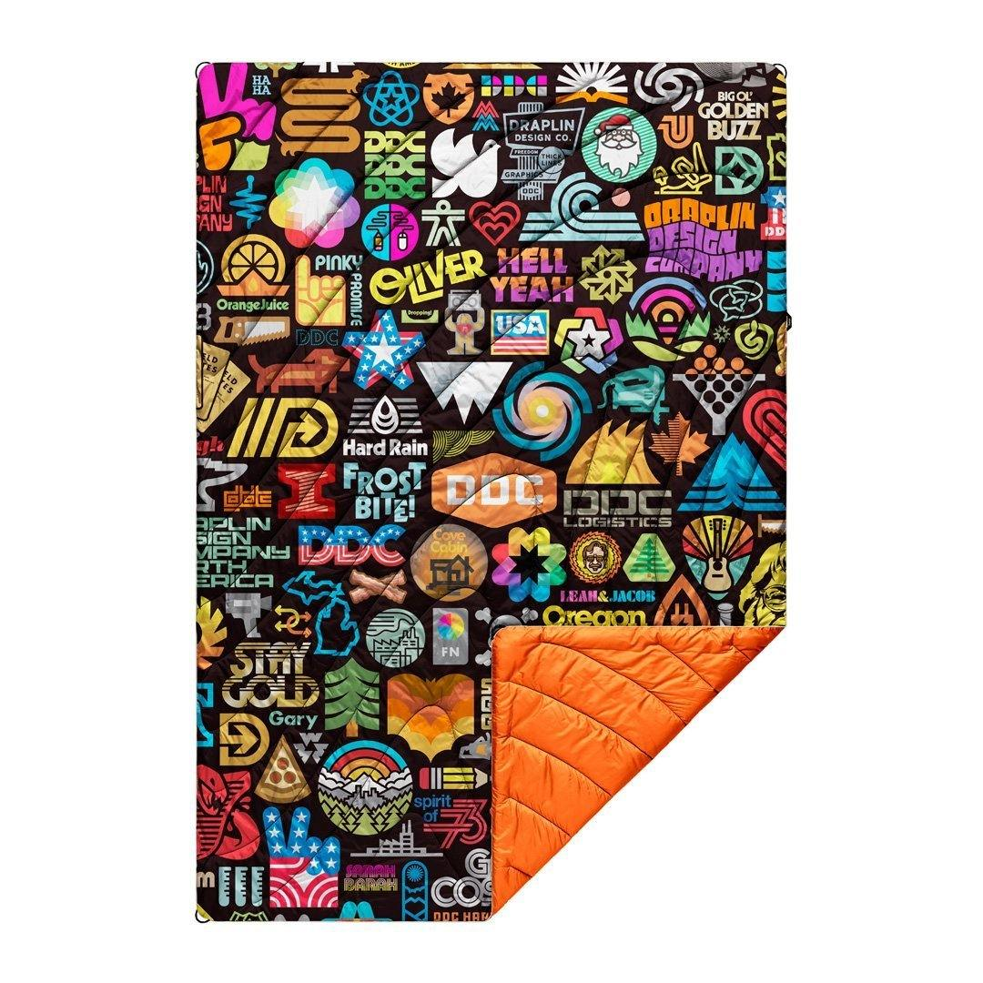 Original Puffy Blanket - Draplin Pretty Much Everything