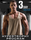 Men's 10-Week Hypertrophy Program (3-Day Split)